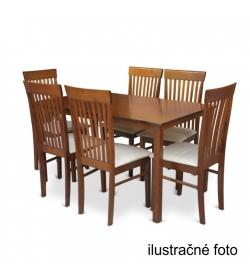 Jedálenský stôl 110, orech, ASTRO