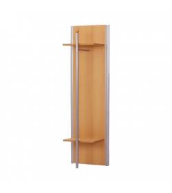 Panel s tyčou, buk, strieborný, LISSI TYP 10