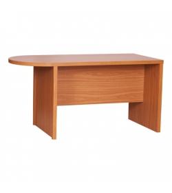 Zasadací stôl s oblúkom, čerešňa, OSCAR T03