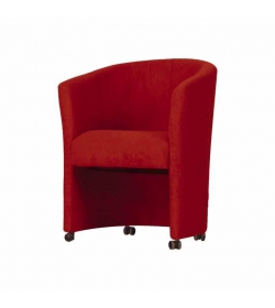Kreslo, červené, ELIZA