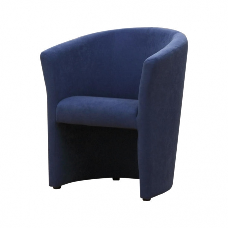 Kreslo, modrá, CUBA