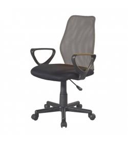 Kancelárska stolička, sivá/čierna, BST 2010