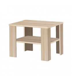 Konferenčný stolík, malý, dub sonoma, INTERSYS 21