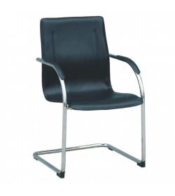 Stolička, ekokoža čierna, MI-01