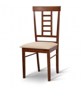 Stolička, orech/látka béžová, OLEG