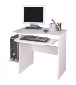 PC stôl, biela, MELICHAR