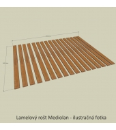 Rošt, 160x200, MEDIOLAN