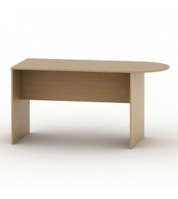 Kancelársky stôl s oblúkom, buk, TEMPO ASISTENT NEW 022