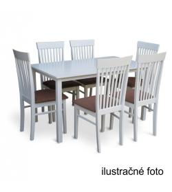 Stôl 110, biela, ASTRO