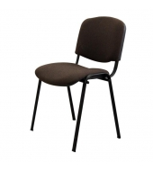 Stolička, hnedá, ISO NEW