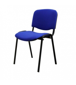 Stolička, modrá, ISO NEW