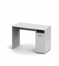 PC stôl , biela, NOKO-SINGA 21