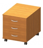 Kontajner 3 zásuvkový, čerešňa, TEMPO ASISTENT NEW 016