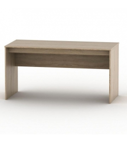 Písací stôl 150, dub sonoma, TEMPO ASISTENT NEW 020 PI