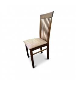 Stolička, orech/svetlohnedá látka, ASTRO