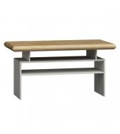 Konferenčný stolík K - 13, dub biela / dub zlatý, KATY K - 13