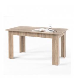 Jedálenský stôl, dub sonoma, 140x80 cm, GENERAL