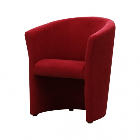 Kreslo, červená, CUBA