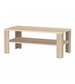 Konferenčný stolík, dlhý, dub sonoma, INTERSYS NEW 22