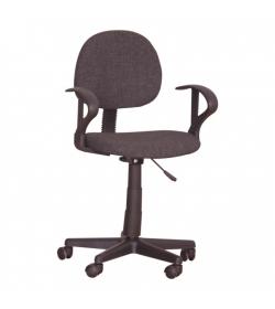 Kancelárska stolička, čierna, TC3-227