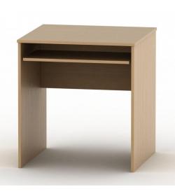 Stôl písací s výsuvom, buk, TEMPO ASISTENT NEW 023
