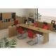 Kancelárska skrinka so zámkom, bardolino tmavé, TEMPO ASISTENT NEW 002