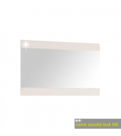 Zrkadlo 122, biele, extra vysoký lesk, LYNATET TYP 122