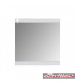 Predsieňové zrkadlo, biela/vysoký lesk, DERBY