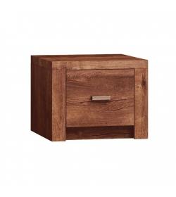 Nočný stolík, DTD laminovaná, jaseň svetlý, INFINITY