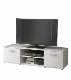 TV stolík/skrinka, biela, ZUNO NEW 01