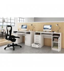 PC stolík ,biela, B9 NEW