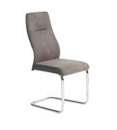 Jedálenská stolička, sivohnedá, VAROL