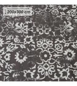 Koberec, vintage, tmavosivý, 200x300, MORIA