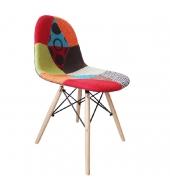 Jedálenská stolička, mix farieb, CANDIE NEW TYP 2