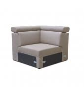 Rohová časť na objednávku k luxusnej sedacej súprave, béžová, MARIETA