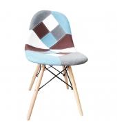 Jedálenská stolička, mix farieb, CANDIE NEW TYP 4