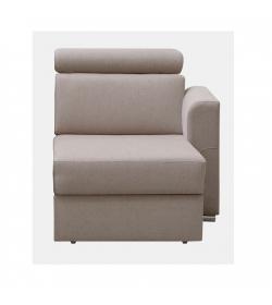 1-sed 1 BB  P na objednávku k luxusnej sedacej súprave, béžová, pravý, MARIETA