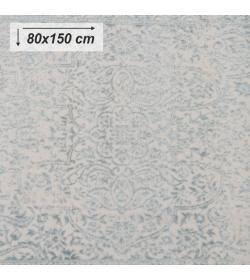 Koberec, krémová/sivý vzor, 80x150, ARAGORN