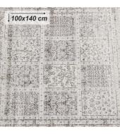 Vintage koberec, sivý, 100x140, ELROND