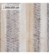 Koberec, béžová/vzor, 200x250, AVALON