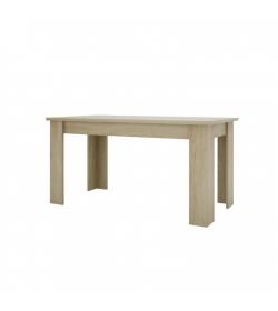 Jedálenský stôl 160, typ 02, dub sonoma, KASIOPEA