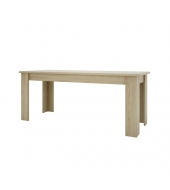 Jedálenský stôl 180, typ 03, dub sonoma, KASIOPEA
