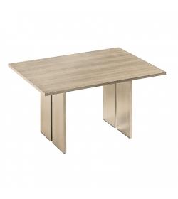 Jedálenský stôl, dub sonoma, LEONOR