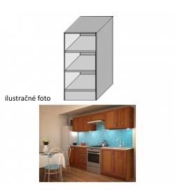 Kuchynská skrinka, spodná policová, orech, LENKA DO-20