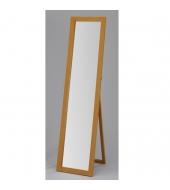 Zrkadlo, stojanové, dub, AIDA