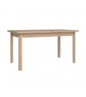 Jedálenský stôl, DTD laminovaná, dub sonoma, KLEON