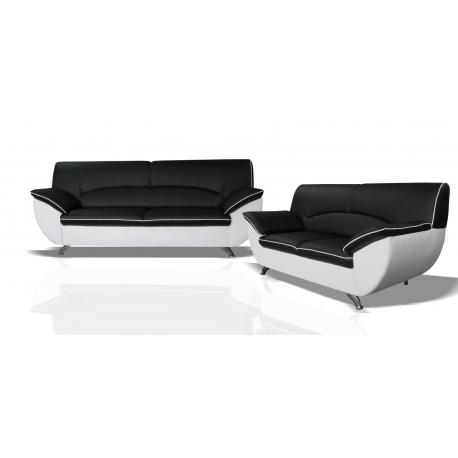 Rivera 3, trojsed - Bronco 800 biele/Sawana 14 čierna