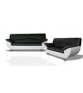Rivera 2, dvojsed - Bronco 800 biele/Sawana 14 čierna