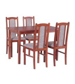 Stôl MAX V. + stoličky BOSS XIV.