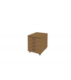 Kontajner 4-zásuvkový + zámok
